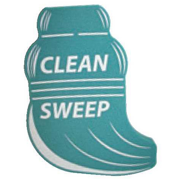 "Foam Broom Shaped Mitt, 15"" Photo"