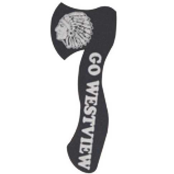"Foam Hatchet Shaped Novelty Waver, 15"" Photo"
