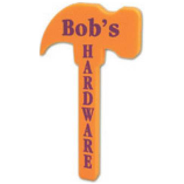 "Foam Hammer Shaped Novelty Waver, 18"" Photo"