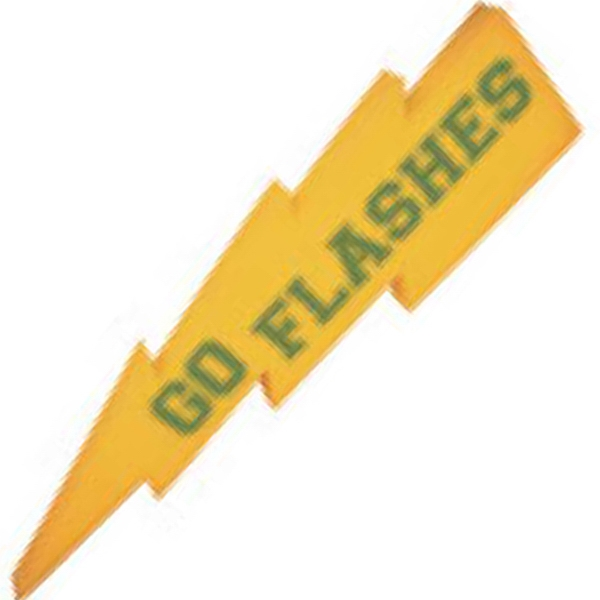 "Lightning Bolt Shape Novelty Waver, 17 7/8"" Photo"
