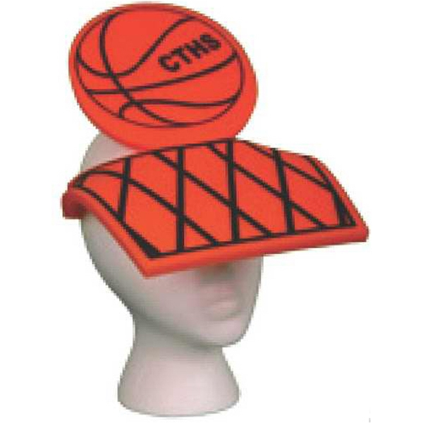 Foam Basketball Design Novelty Visor Photo