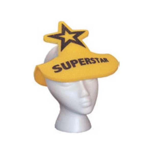Foam Visor With Star Shape Extension Photo