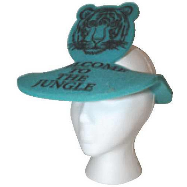 Tiger Visor - Foam Novelty Visor Photo