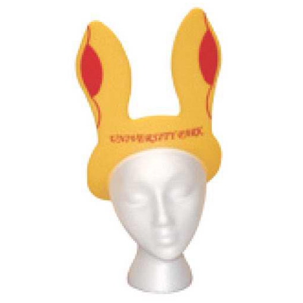 Foam Bunny Ears Visor Photo