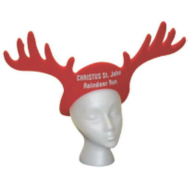 Reindeer - Foam Visor Photo