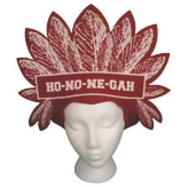 Foam Indian Headdress Shaped Visor Photo