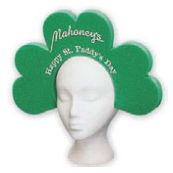 Shamrock Visor - Foam Novelty Visor Photo