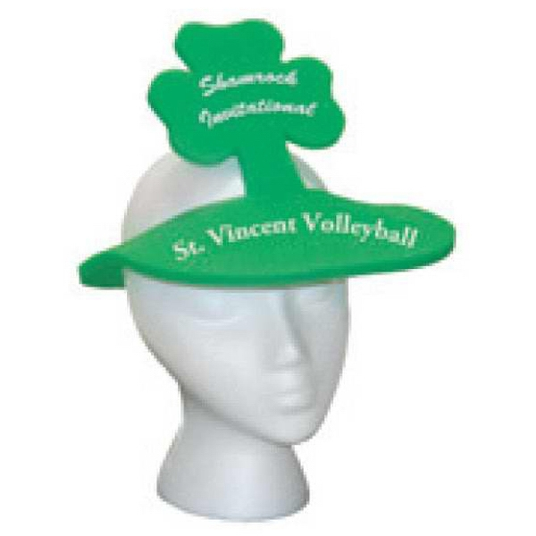 Foam Shamrock Head Band Style Novelty Hat Photo