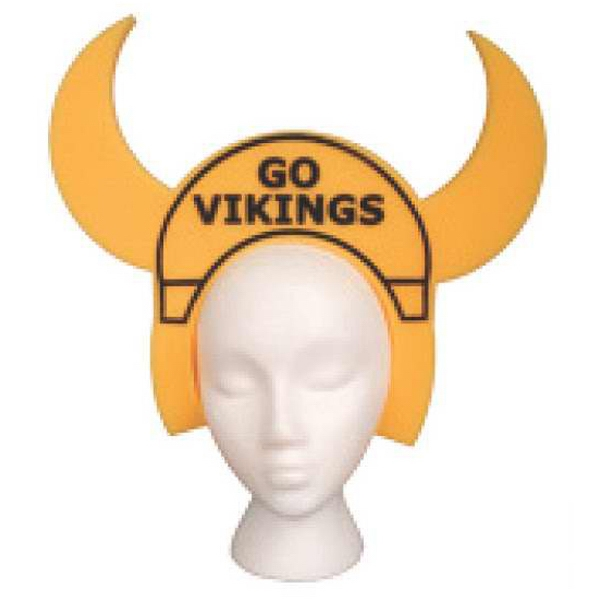 Foam Viking Head Band Visor Photo