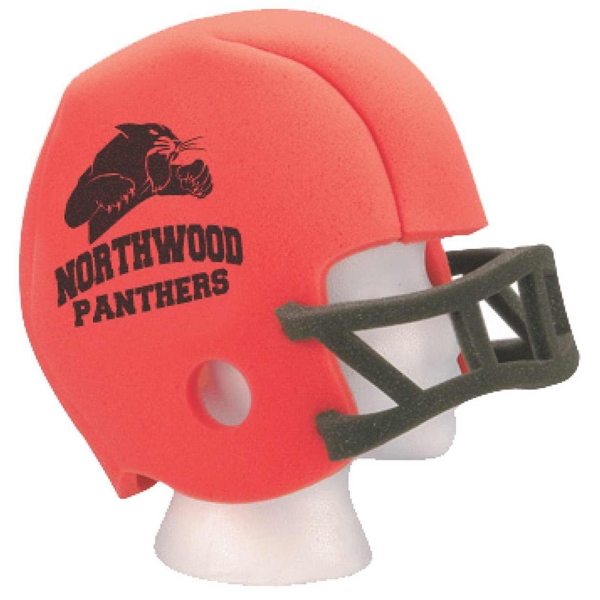Large - Foam Football Helmet Photo