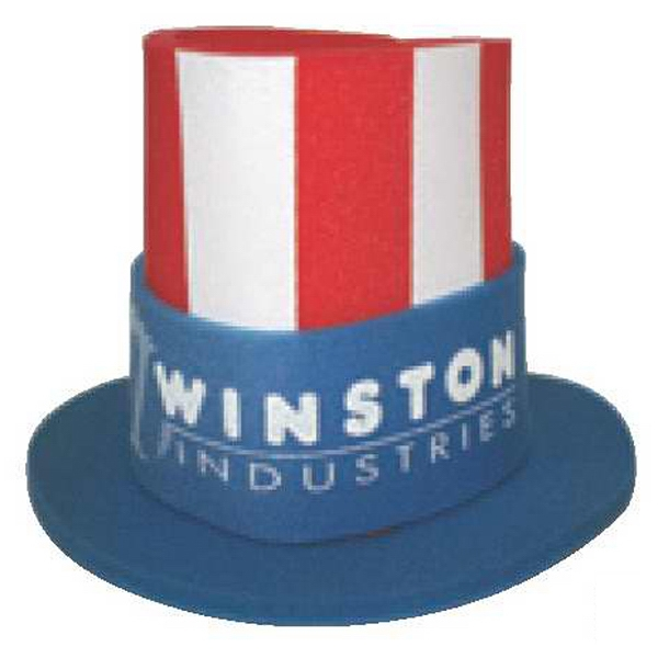 Foam Uncle Sam Hat With Stars And Stripes Photo