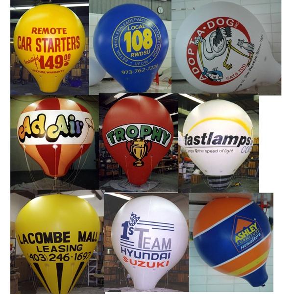 Inflatable balloon shape
