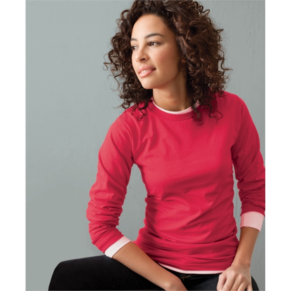 5 oz., 100% Organic Cotton Long-Sleeve T-Shirt - 5 oz. 100% organic cotton long sleeve t-shirt.