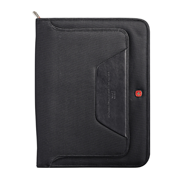 "Wenger (r) - Deluxe Ballistic Zippered Closure Padfolio With Included 8.5"" X 11"" Writing Pad Photo"