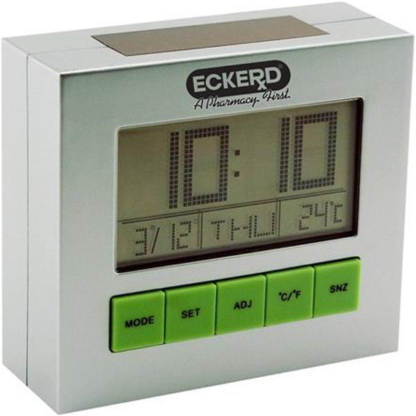 Solar Powered Desk Clock Photo