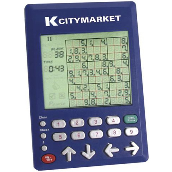 Electronic Sudoku Game Photo