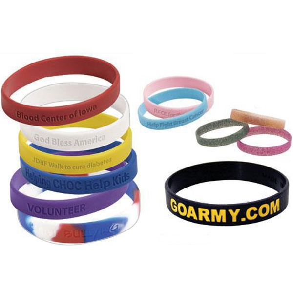 35 Working Days - Custom Silicone Rubber Wristband Photo