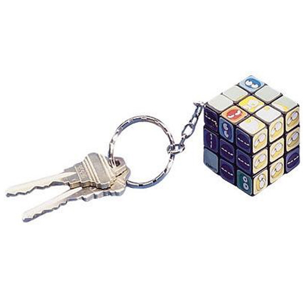 Miniature Twist Cube Puzzle Key Chain Photo
