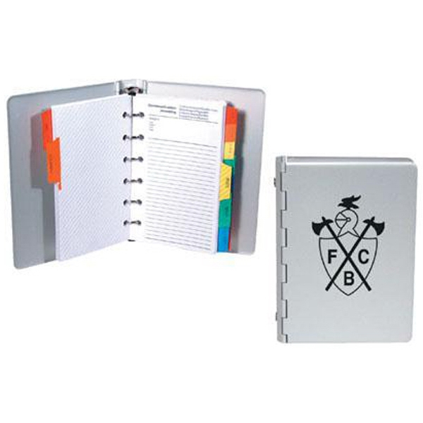 Miniature Aluminum Organizer Planner Fits In The Palm Of Your Hand Photo