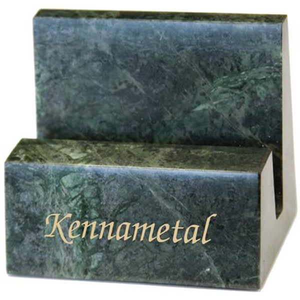 Green Hualien Marble Business Card Holder Photo