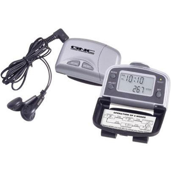 Fm Scan Radio With 5-function Pedometer Photo