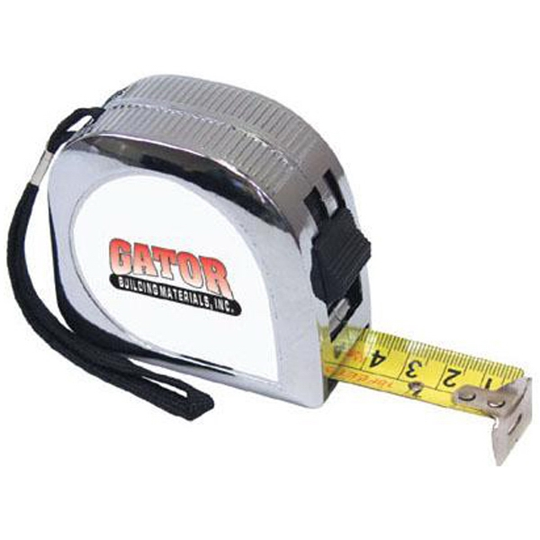 18' Tape Measure With Metal Clad Case And A Belt Clip Photo