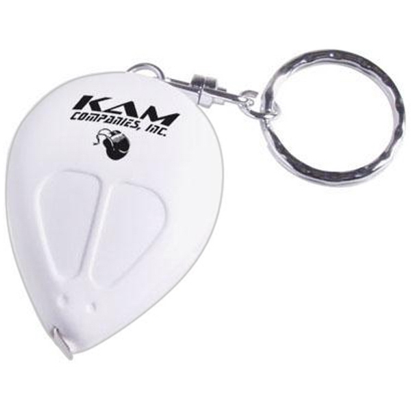 Computer Mouse Shaped Key Ring With 3' Tape Measure Photo