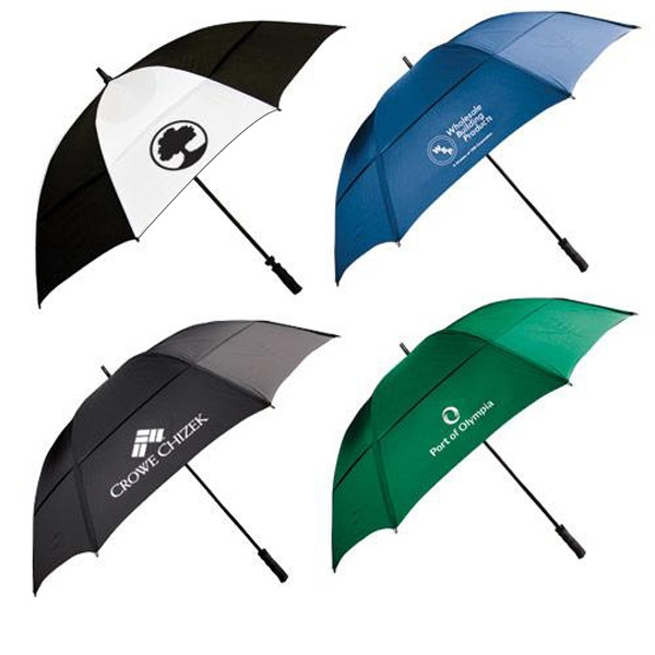 Wind Resistant Golf Umbrella With Fiberglass Shaft And Ribs Photo