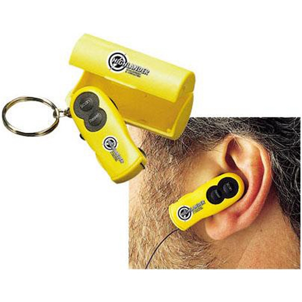 Fm Scanner Ear Radio/keychain Photo