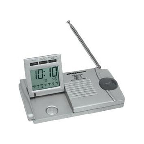 Slim Traveler - Am/fm Radio/alarm Clock/flashlight With Stop Watch Function Photo