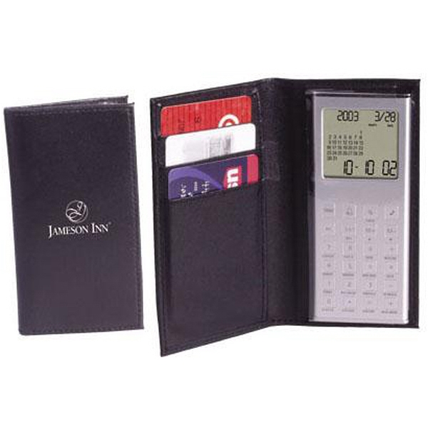 Wallet Calculator/clock With Calendar And World Time Photo