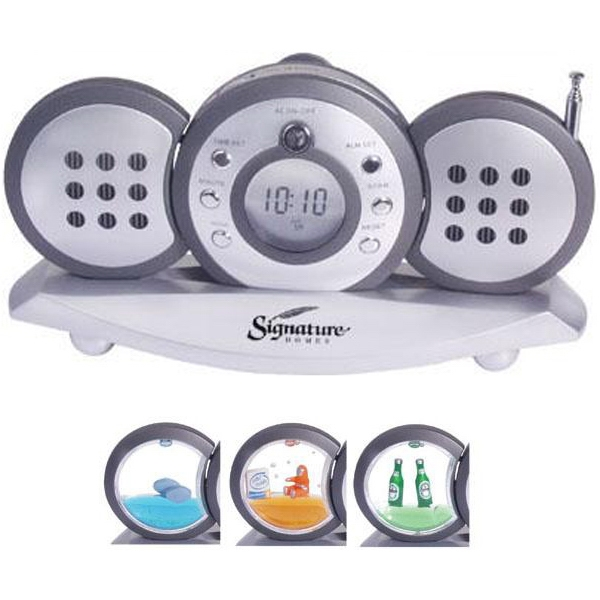 3-piece radio with detachable speakers - Three piece radio with detachable speakers