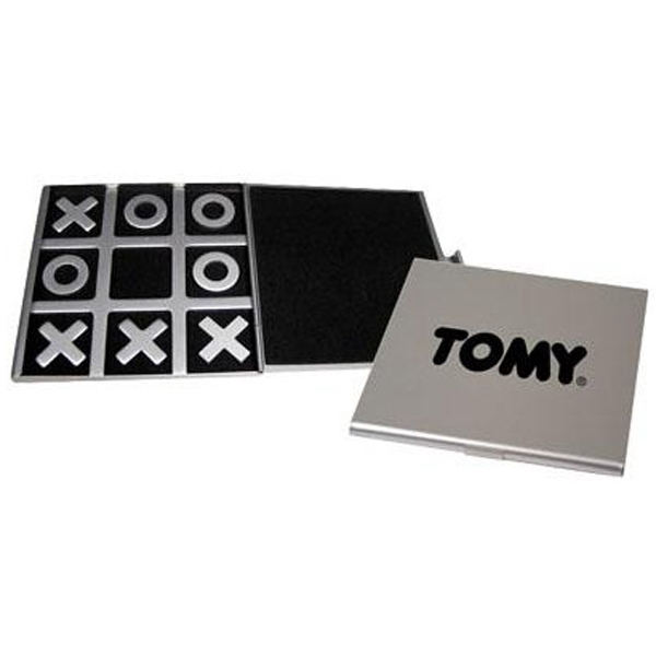 "Tic-tac-toe Game With Eight Pieces Of 1/8"" Thick Aluminum Photo"