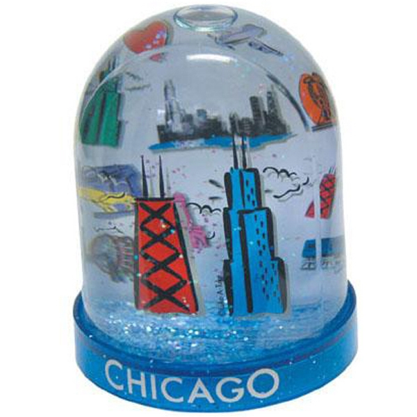 Large Tower Two-level Water Ball With Clear Acrylic Panel In Center Of Dome Photo