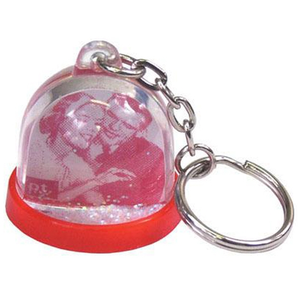 Custom Mini Do It Yourself Water Ball Key Chain Photo
