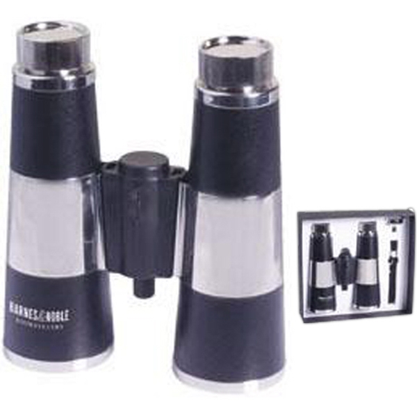 Stainless Steel 12 Oz. Dual Flask Binocular With Gift Box Photo