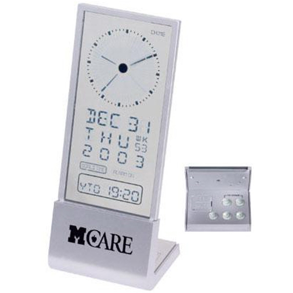 See-through Display Desk Alarm Clock Photo
