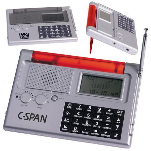 Auto-open world time calculator/travel radio