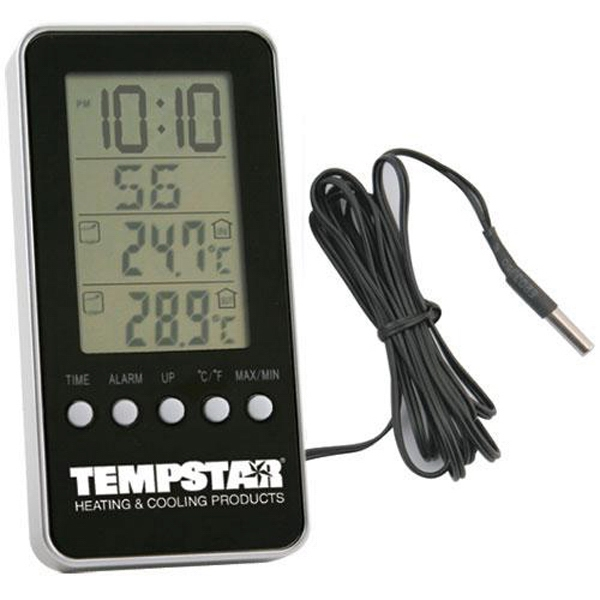 Indoor/outdoor Digital Thermometer Alarm Clock Photo