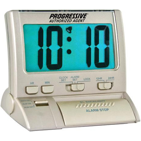 Large Digit Backlit Alarm Clock Photo