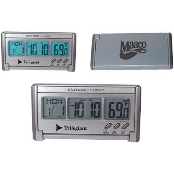 Jumbo Lcd Alarm Clock With Large And Back Lit Display Photo