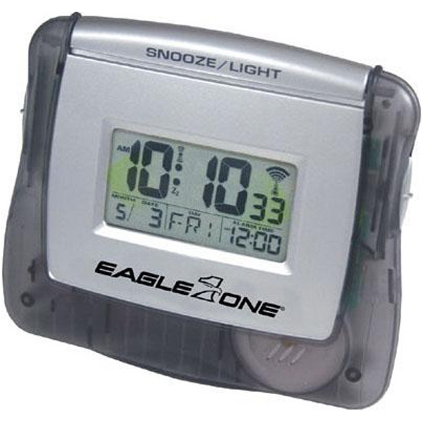 Radio-controlled Budget Alarm Clock, 2 Aa Batteries Included Photo