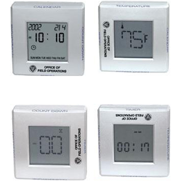 Magic 4-function Talking Clock With Electronic Thermometer And Calendar Photo