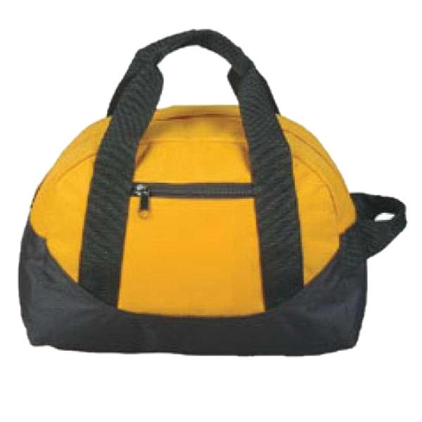 Two Tone Duffel Bag (Semi Circular)