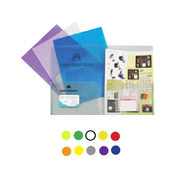 Twin Pocket Presentation Folder With Business Card Holder Photo
