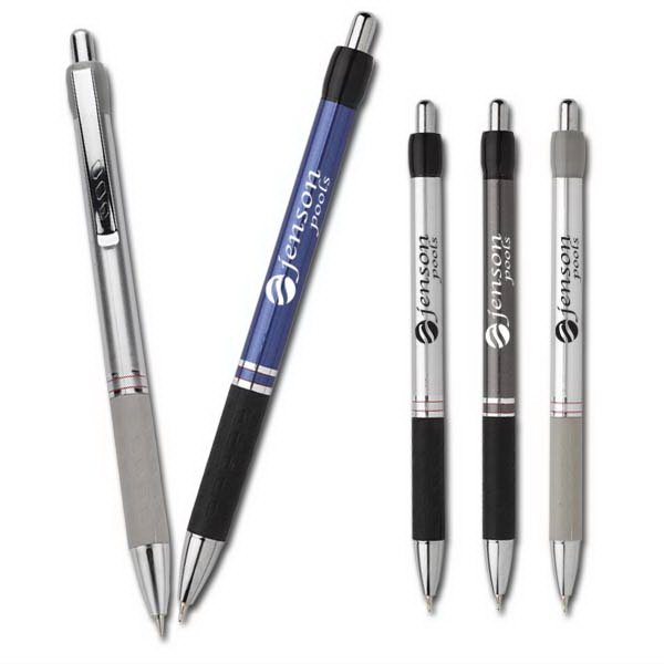 University Presentation Series Designer - Ballpoint Pen Plunger Action Retractable. Liquid Ink European Fine Point Photo