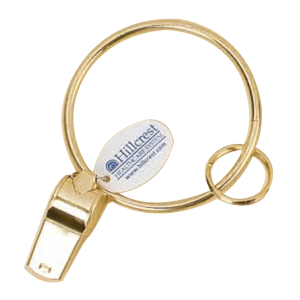 Whistle Key Ring, Brace Ring Bracelet Photo