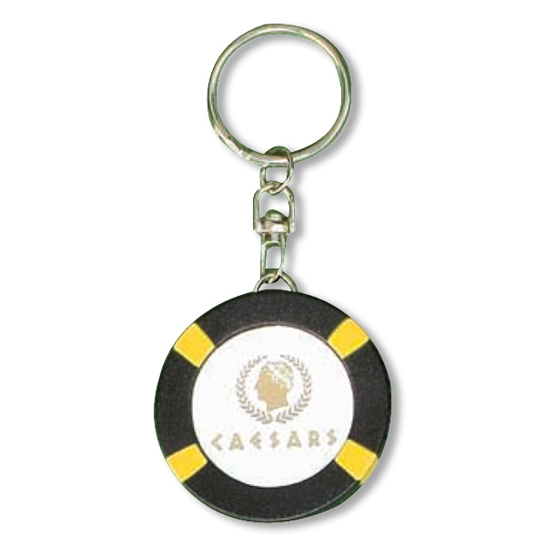 Poker Chip, $100, Flashlight Key Chain Photo