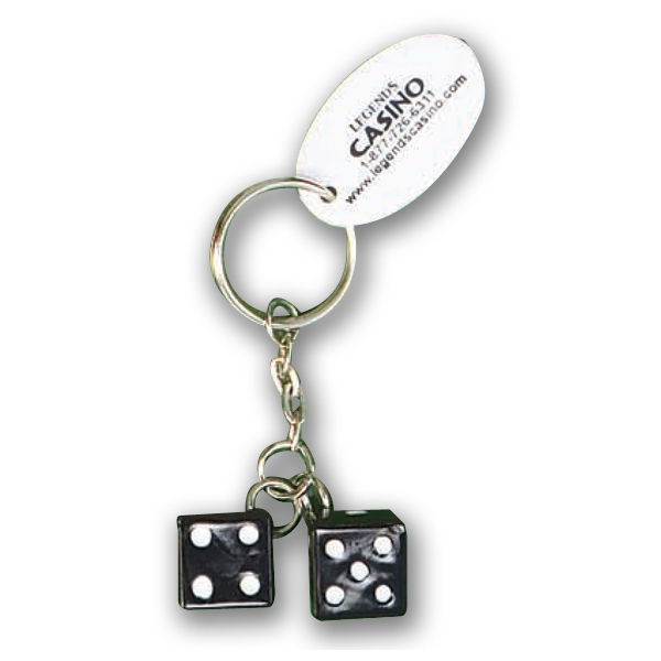 Pair Of Dice Key Chain Photo