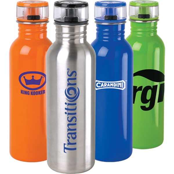 25 Oz Stainless Steel Water Bottle Photo